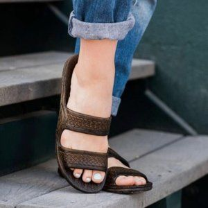 Dark Brown Pali Hawaii Jandals (Jesus Sandals)